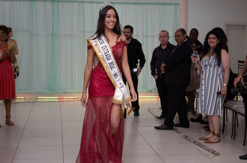 Miss Teen Coronel Fabriciano vence concurso Miss Estrada Real CNB 2019