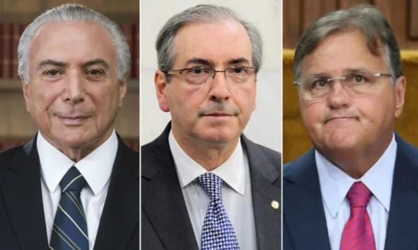 """Justiça absolve Temer, Cunha e Geddel no """"Quadrilhão do MDB"""""""