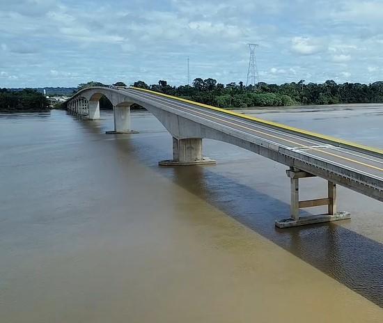 Dia histórico para o Acre! Governo do Brasil entregou nesta sexta-feira a Ponte do Abunã