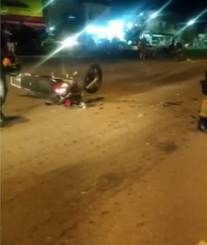 Mototaxista morre ao bater em carro da Prefeitura de Ipatinga