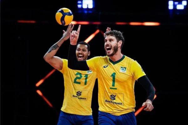 Seleção masculina vence Itália e vai para semifinal da Liga das Nações