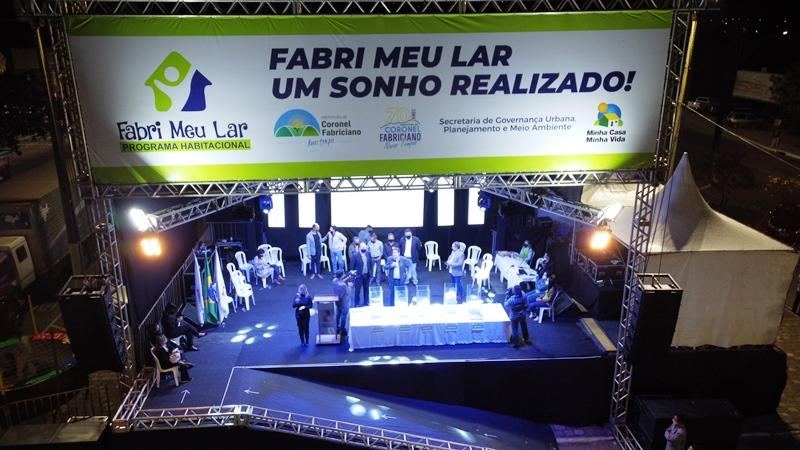 Prefeitura divulga lista de sorteados pelo Fabri, Meu Lar e convoca os contemplados para entrega de documentos
