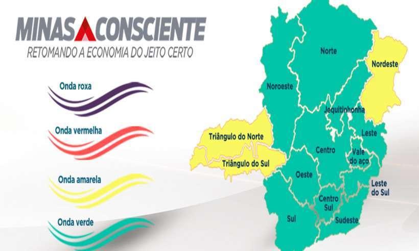 Minas Consciente: estado não tem nenhuma região na onda vermelha do plano