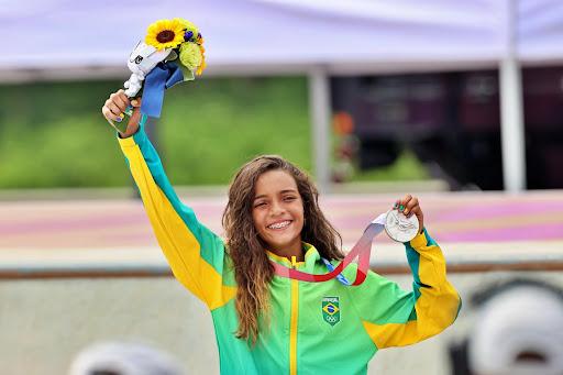 Rayssa Leal vence prêmio internacional de valores olímpicos