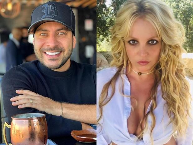 Caio Afiune celebra vitória de Britney Spears sobre tutela e web vai à loucura