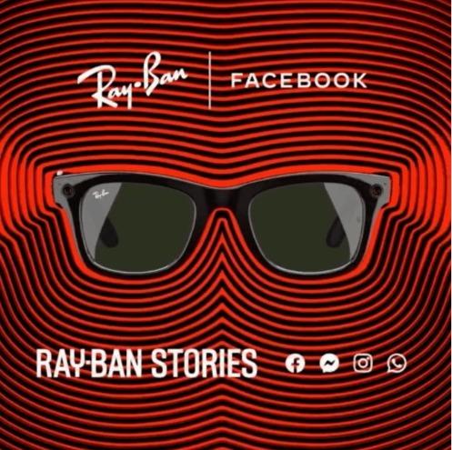 Facebook e Ray-Ban apresentam óculos 'inteligentes', que fazem fotos e vídeos