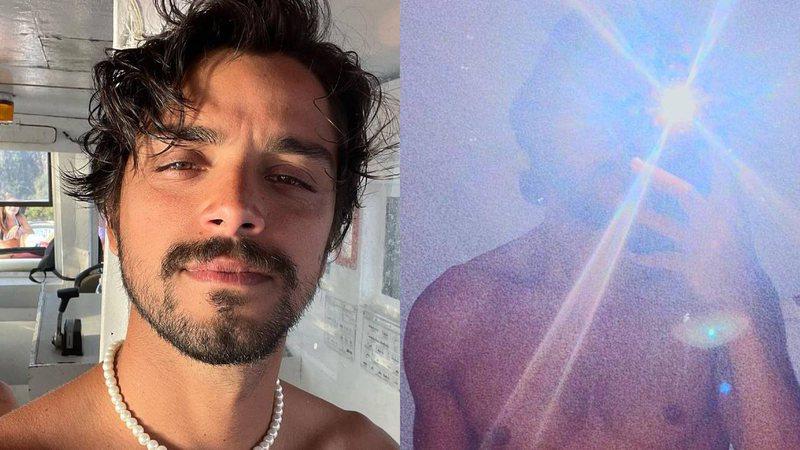 Rodrigo Simas posta clique ousado e anima madrugada de seguidores